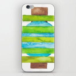 180818 Geometrical Watercolour 5 iPhone Skin