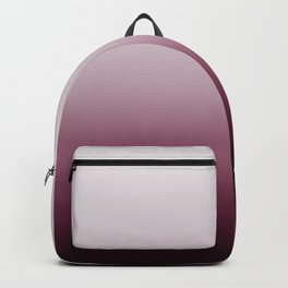Deep Dusty Rose Ombre Backpack
