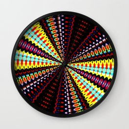 Mesmerised Wall Clock