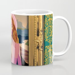 Queen B in the Louvre Coffee Mug