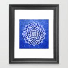 okshirahm, blue crystal Framed Art Print