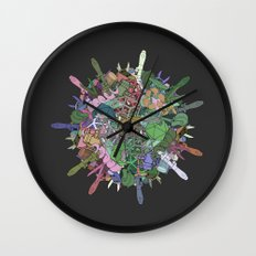 Gas Ball Wall Clock