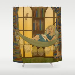 Reading Forest Shower Curtain