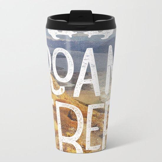 Roam Free NZ Metal Travel Mug