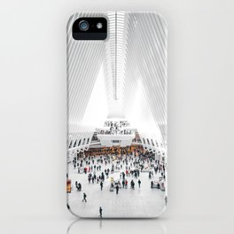 the oculus new york city iPhone Case