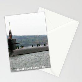USS LOUISIANA (SSBN-743) Stationery Cards