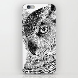 Ink Owl iPhone Skin