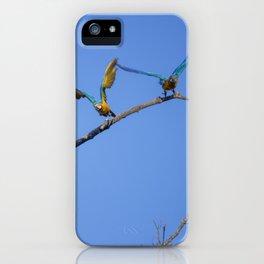 Birds from Pantanal Arara canindé, juntos é bem melhor iPhone Case