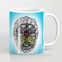 skulls Mugs featuring skulls by Hanan Azran