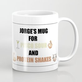 Pisco Sour and Protein Shakes Coffee Mug