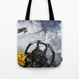 Phantom vs Mig Tote Bag