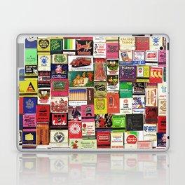 Antique Matchbooks Laptop & iPad Skin