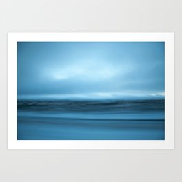 Iceland in slow motion #2 Art Print