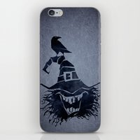 witch iPhone & iPod Skins featuring witch by Erdogan Ulker