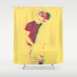 Love Me From The Inside Out Shower Curtain