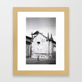 Braga on Film Framed Art Print
