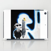snoopy iPad Cases featuring MIB Snoopy by Karmaela.com