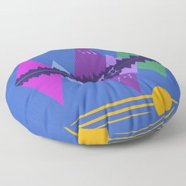 Wolf Pack Passage Floor Pillow