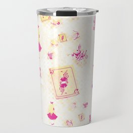 Whimsical Alice Travel Mug