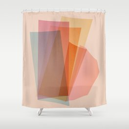 Abstraction_Spectrum Shower Curtain