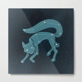 Star Fox (Vulpes astra) Metal Print