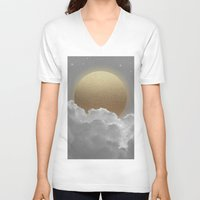 stay gold V-neck T-shirts featuring Nothing Gold Can Stay (Stay Gold) by soaring anchor designs