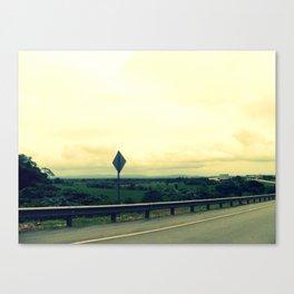 Keep Driving Canvas Print
