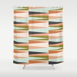 Scandinavian Geometry Pattern green #Homedecor Shower Curtain