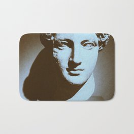 Head of a Goddess - photo Bath Mat