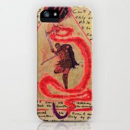 A tear in the fabric of time iPhone Case