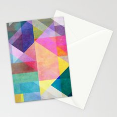 Color Blocking 2 Stationery Cards
