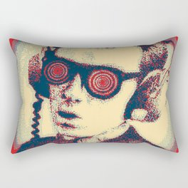 Army Of Costello Pumps It Up Rectangular Pillow