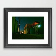 Summer night cruiser Framed Art Print