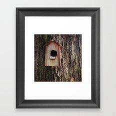 birdhouse Framed Art Print