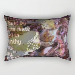 Autumn Decay II Rectangular Pillow