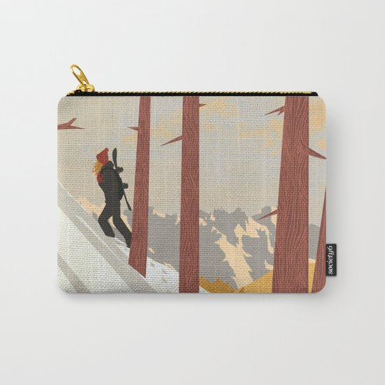 I would be... an explorer  Carry-All Pouch