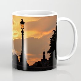 A sunset in Paris Coffee Mug