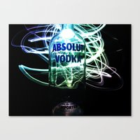 vodka Canvas Prints featuring Absolut Vodka by Rothko