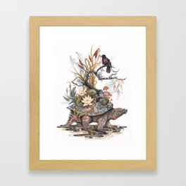 Goddess of the Swamp Framed Art Print