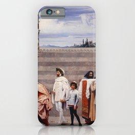 Frederic Leighton - Cimabue's Celebrated Madonna iPhone Case