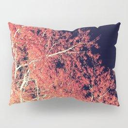 Inverted Tree Dark Night Pillow Sham