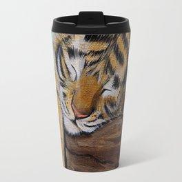 Sleepy Tiger Cub Travel Mug