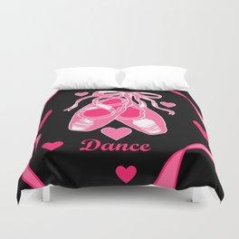 Love Dance Duvet Cover