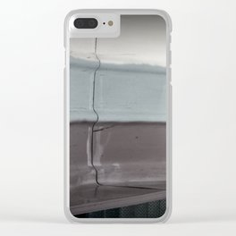 three colors Clear iPhone Case