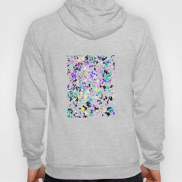 Abstract,splash pattern Hoody