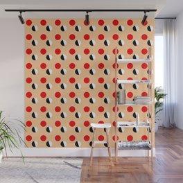 new polka dot 16- ceramic colors Wall Mural