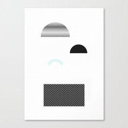 Geometric Calendar - Day 19 Canvas Print