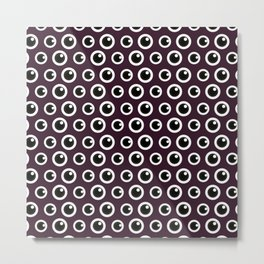 Eye Spy (Patterns Please) Metal Print