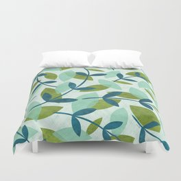 Simple Leaves Duvet Cover