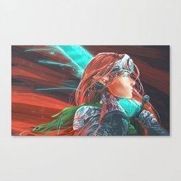Tessa, Vanguard of Man Canvas Print